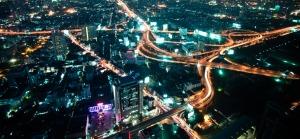 Big modern city