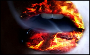 Fire_lips_by_MilaDarkAngel