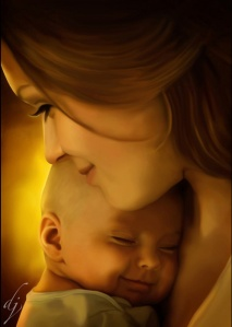 A-Mothers-Love-hyperrealistic-illustrations-dean-jacob