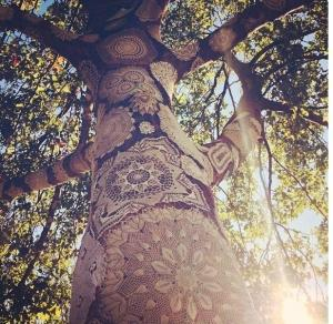 bohemian-decorations-lace-on-trees-lovely-lace-wedding-pinterest